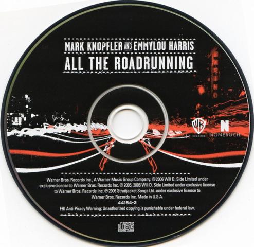 All The Roadrunning-CD