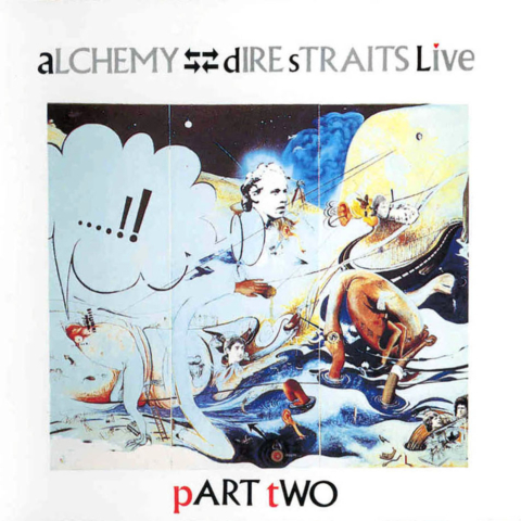 Dire Straits Alchemy Part Two Frontal