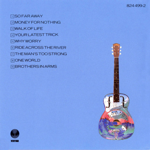 Dire Straits Brothers In Arms interior