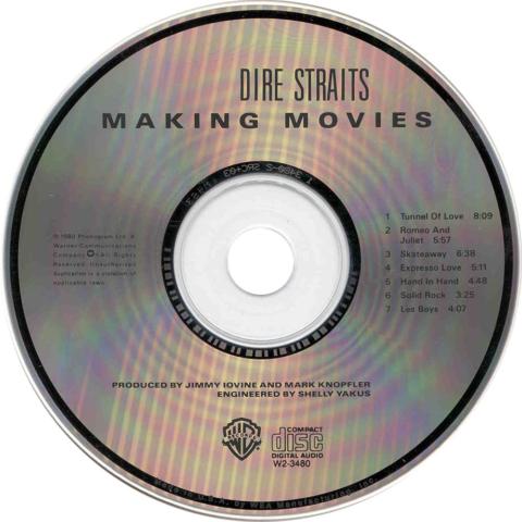Making Movies CD