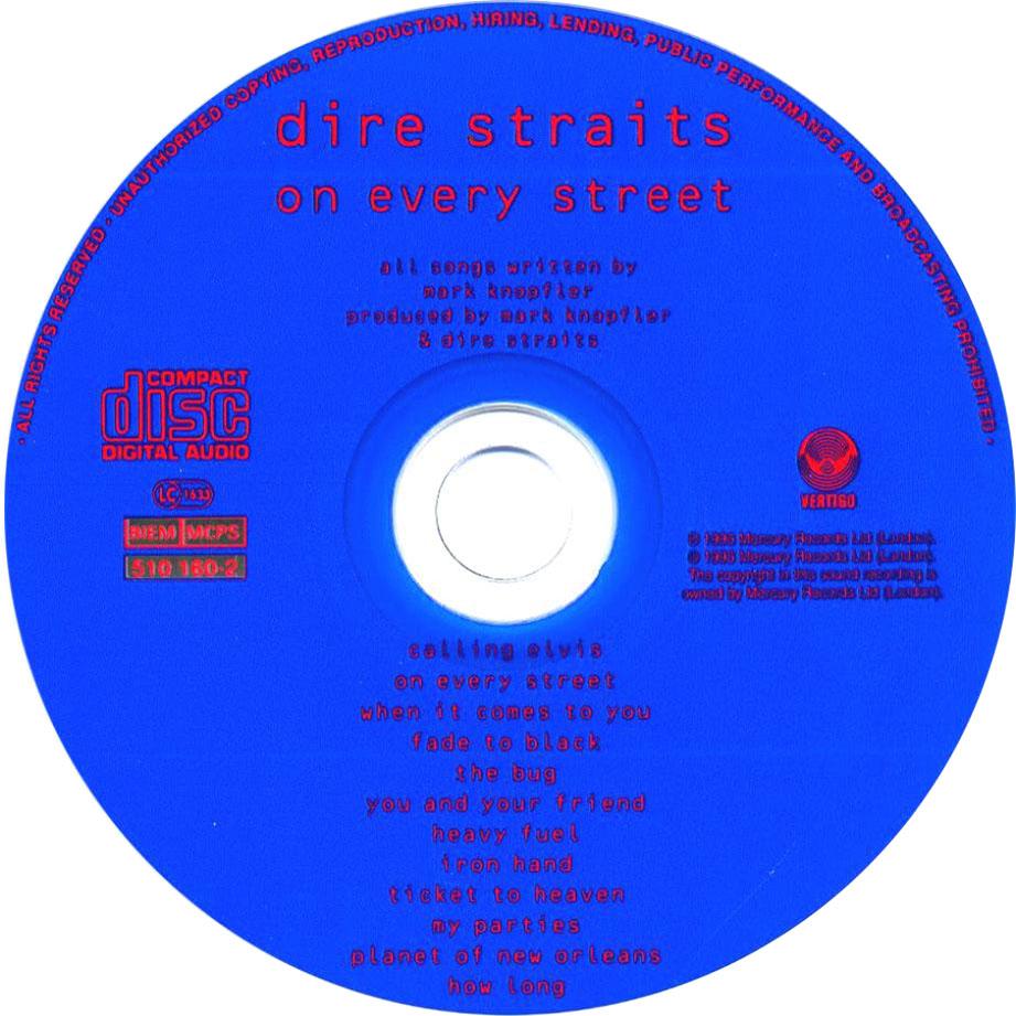 On Every Street-CD