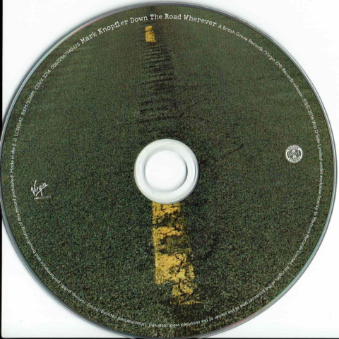 Down The Road Wherever-CD