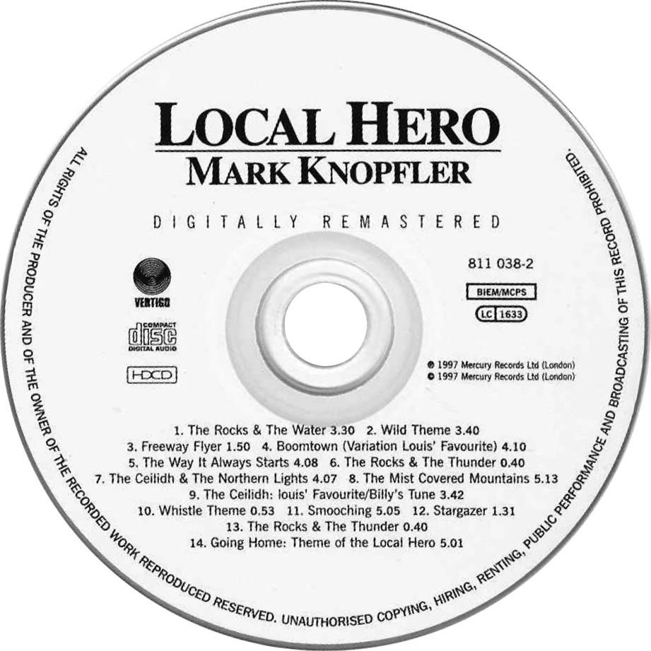 Local Hero-CD