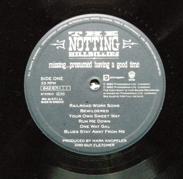 MISSING PRESUMED HAVING A GOOD TIME-CD