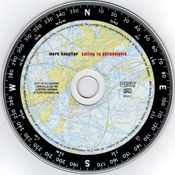 Sailing to Philadelphia-CD